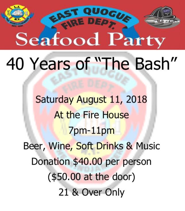 2018 Annual Seafood Party